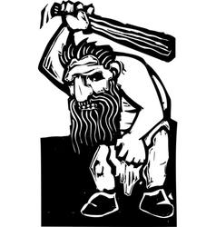 Troll vector image