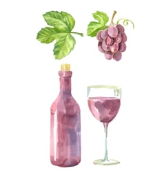 Picture of wine vector