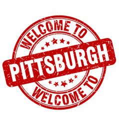 Welcome to pittsburgh vector