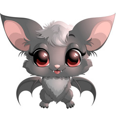 Beautiful little bat vector