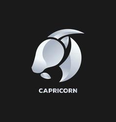 Capricorn Horoscope Icon vector image