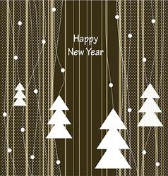 happy new year 3123 vector image vector image