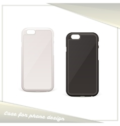 Design case for phone vector
