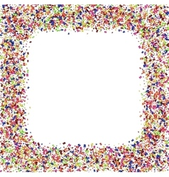 modern festive confetti abstract background vector image