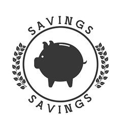 money pictogram vector image