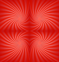 Seamless red swirl background vector