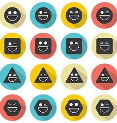Temper Face Icon vector image