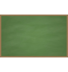 Blank chalk board vector