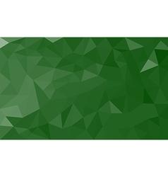 Green polygon background vector
