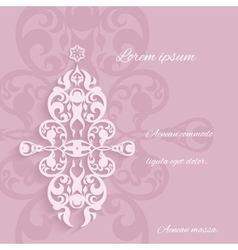 Ornamental elements classic style vector image vector image