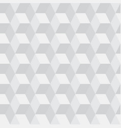 Seamless cubic pattern background vector