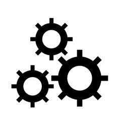 settings 3 icon sign o vector image
