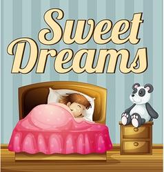 Sweet dream vector image vector image