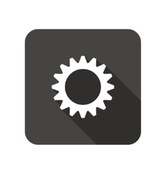 Gear icon cogwheel symbol vector