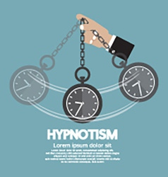 Hypnotism by using a clock vector