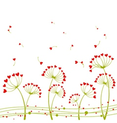 Abstract springtime love vector
