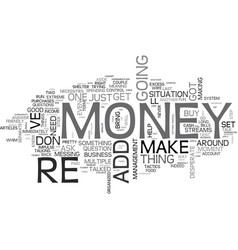 Adult add will you make money text word cloud vector