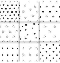 Hand-drawn pattern Scandinavian vector image vector image