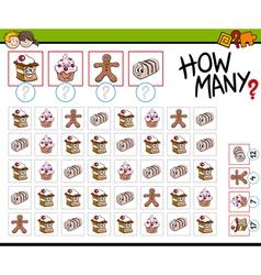 How many sweets activity vector