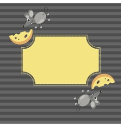 Mouse frame vector image vector image