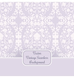 Romantic vintage backround for wedding decoration vector