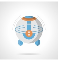 Room humidifier flat color icon vector