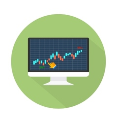 Data analyzing in forex market vector