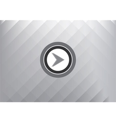 Play button technology concept abstract background vector
