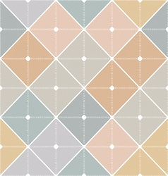 Vintage pattern style of the fifties vector
