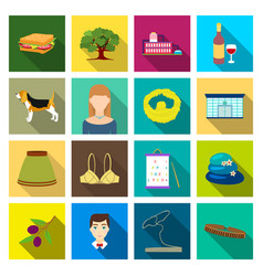 Ecology hobbies textilesand other web icon in vector