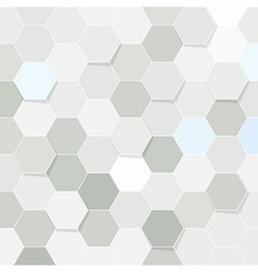 Hexagon tile transparent background vector