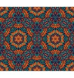 Geometrical ethnic tribal print ornament vector