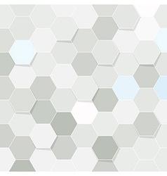 Hexagon tile transparent background vector