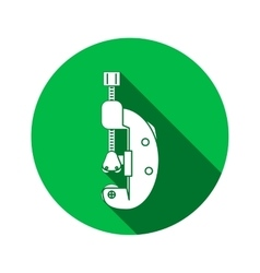 Tool icon cutter clamp repair fix building vector