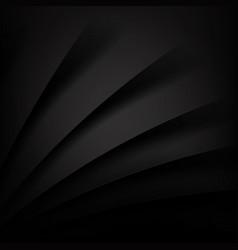 black modern background overlap multi paper vector image