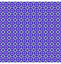 Abstract geometric seamless background violet and vector