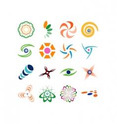 logo background vector image