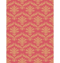 Colorful damask seamless floral pattern vector
