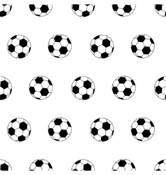 Soccer ball seamless vector
