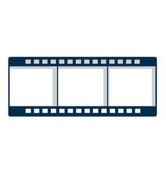 film strip icon cartoon style vector image