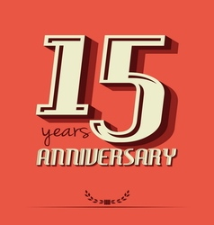 10 year an3 vector image
