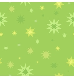 Seamless pattern star splashes isolated on white vector