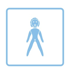 Sex dummy icon vector