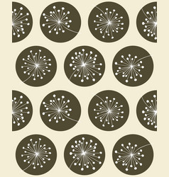 floral seanless pattern vector image vector image