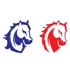 Mustang sport mascot vector