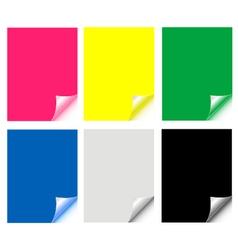 paper set vector image