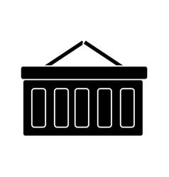shopping cart icon sign o vector image