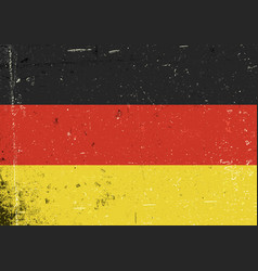 Germany grunge flag abstract germany patriotic vector