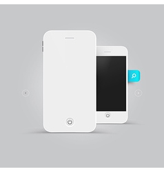 Smart phone design vector image