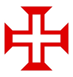 Symbol of order of christ vector